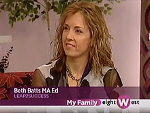 Spring Break learning from Beth Batts on eightWest on WoodTV 8.